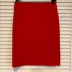 Red Banana Republic pencil skirt size 2.